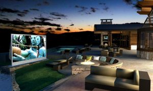 Projectiondreams are the masters of outdoor Living!