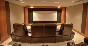 Licenced by DOLBY..Projectiondreams can design and install a commercial Dolby Cinema.