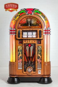 Gazelle Jukebox - 8750 - The Gazelle jukebox brings you Art Deco elegance with a real spring in its step