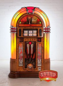 Melody Jukebox - 8750 - A stunning jukebox sound in a slim, space-saving body – now that's an ir